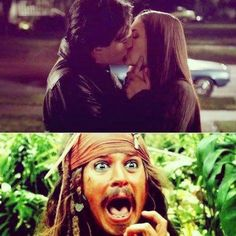 that moment elena and damon kiss but then you realize its only katherine. Damn straight!