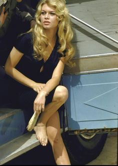 Classic beauty Brigitte Bardot