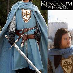Jerusalem Balian cape de chevalier / Kingdom of Heaven knight cloak
