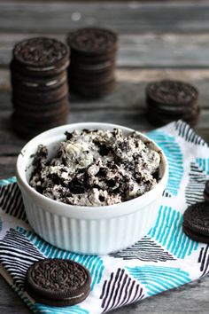 Cookies and Cream Pudding - highly addicting!