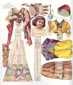 LITTLE INDIAN PAPER DOLL (1 OF 1)