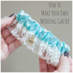 Diy Wedding Garter Can T Find The Perfect To Match Your Dress