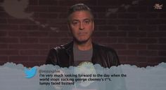 George Clooney, Jennifer Garner & Other Celebs Read Mean Tweets About Themselves