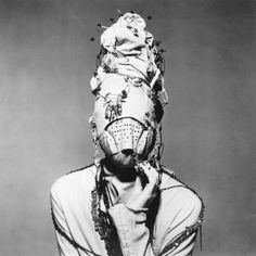Strange and weird?! He was one of the first to these types of fashion photos. Pre-Lady-Gaga!
