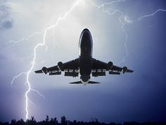 What Do You Do When a Plane Is Struck By Lightning?