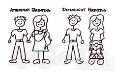 Babywearing and attachment parenting humor.  comic.  Family.  www.littleds.ca