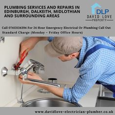 DAVID LOVE ELECTRICAL & PLUMBING is well trusted brand for Plumbers electricians in Edinburgh, Dalkeith, Midlothian and surrounding areas. . We are offering complete range of professional and prompt service at all times. With the help of fair & transparent pricing policy we are fully dedicated to our work. Office Standard, Bathroom Fitters, Local Plumbers, Bathroom Installation, Plumbing Problems, Emergency Call, Central Heating, Life Savers, Heating Systems