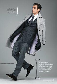 fd48e79bc95 todaystie  Amazing Gray -Menswear Magazine Russian Men