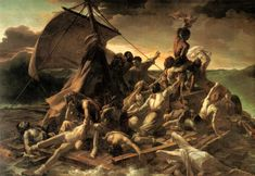 The Raft of the Medusa (French: Le Radeau de la Méduse) is an oil painting of 1818–1819 by the French Romantic painter and lithographer Théodore Géricault (1791–1824). Completed when the artist was 27, the work has become an icon of French Romanticism.