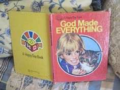 God Made Everything Happy Day Book 1982 Beggining Reading