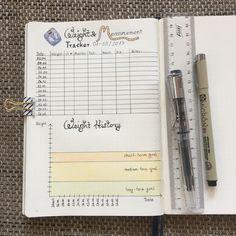 Bujo - weight & measurement tracker Gewichts-Tracker