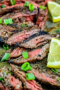The Best Garlic Grilled Flank Steak Recipe ⋆ Sweet C's Designs