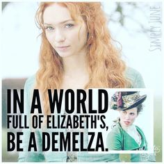 Poster of Eleanor Tomlinson as Demelza Poldark.