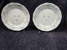 "$9.99 Johann Haviland Bavaria Blue Garland Dinner Plates 10"" - Set of  TWO - NICE! #JohannHaviland"