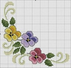 1 million+ Stunning Free Images to Use Anywhere Cross Stitch Borders, Cross Stitch Flowers, Counted Cross Stitch Patterns, Cross Stitch Embroidery, Hand Embroidery, Free To Use Images, Bargello, Crochet Flowers, Needlework