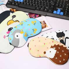 Cute Cartoon Sleeping Eyeshade Patch Of Ice Cold Compress Eliminate Eye Fatigue With Ice Goggles Necessary Summer Free Shipping