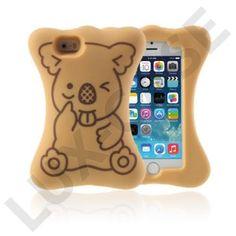Koala (Brun) iPhone 5/5S Deksel Iphone