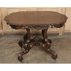 Antique French Napoleon III Center Table |  Antique Furniture | #Antique #Furniture www.inessa.com