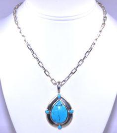 (http://shop.shinjewelers.com/sterling-silver-turquoise-necklace-85010060/) #sterlingsilver #turquoise #necklace