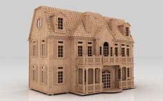 dolls house plans - 3D puzzle