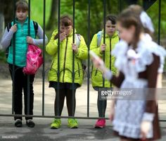 05-31 IVANOVO, RUSSIA - MAY 25, 2017: Younger students watch... #ivanovo: 05-31 IVANOVO, RUSSIA - MAY 25, 2017: Younger students… #ivanovo