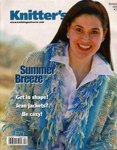 Knitters 79 Summer 2005 Sweaters Wraps Afghans Lace Jean Jacket Magazine VTNS #KnittersMagazine #MagazineBackIssue