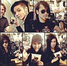Twitter / OfficialBVB: Took a trip to @HotTopic today ...