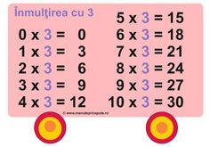 Tabla inmultirii cu 3 Word Search, Math School, Education, Words, Teaching, Onderwijs, Horse, Learning