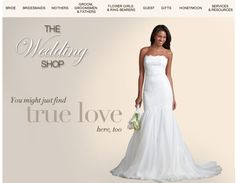 Lord  and Taylor Wedding Shop - for more amazing Gown ideas and inspiration  visit Bride's Book outlets at http://www.brides-book.com