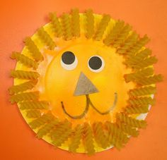 Mrs. Karen's Preschool Ideas: Paper Plate Lion