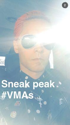 Jared Leto via Snapchat