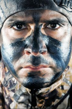 These camo face paint patterns will have you out in the field trying a new look!
