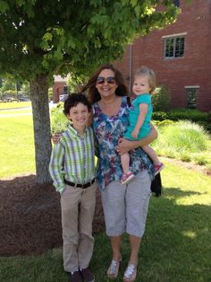 Luke is now a Middle School student. May 24, 2013. Supported by a visit from Noni and Kinsley.