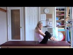 Amanda Tennant, licensed physical therapist and certified pilates instructor, demonstrates how to perform the Pilates Mat exercise Seal. Pilates Mat, Pilates Workout, Exercise, Physical Therapist, Seal, Core, Challenges, Children, Fun