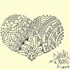 Coração meio Maori meio tribal. Mas com estilo delicado e feminino. Tattoo design - original creation by Cícero Martins 2016 @cmstattoo @flash_addicted #garotastatuadas #tatuagensfemininas #maoritattoo #tribaltattoo #inksanustattoo #flashaddicted #originalcreation #originalart #tatuagem #tattoostyle #tattoodraw #tattoodesign #tattooartist #tattooart #cmstattoo #drawing2me #drawing2me #tattoo2me #sketchbook #sketch #desenholivre #inkedgirls #desenhoamao