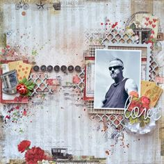 Love layout by Karita Vainio