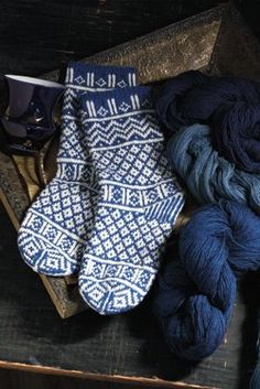 Egyptian Socks to Knit - Knitting Daily