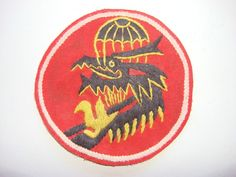 TECHNICAL DIRECTORATE ARVN Special Forces, Vietnam War Hand Sewn Patch (Variant)