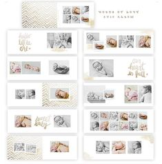 Words of Love 8x12 WHCC Album DOWNLOAD by SnapBoutique on Etsy