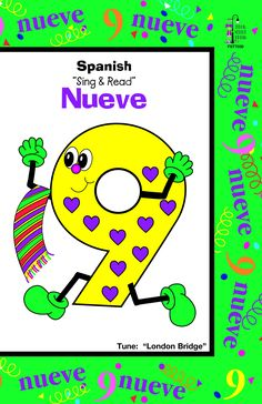Incorporate singing and fun into a foreign language using this Number book.  This book will secure the foundation of Spanish number words while building language and vocabulary with numerous objects that coordinate basic numbers. A familiar tune will prov