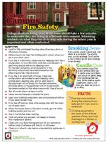 September and October are peak months for fires in college housing; NFPA urges students to be safe #student #housing #safety