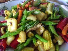 Azie Kitchen: Sayur Campur Goreng