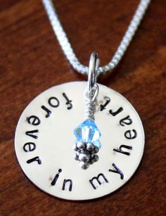 lost child or miscarriage necklace