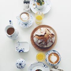 Royal Copenhagen summer table