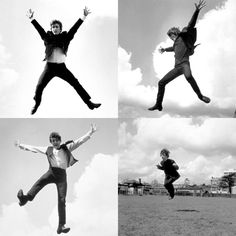 The Beatles (A Hard Day's Night) collage