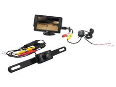 """TaoTronics Car Rear View System 4.3"""" TFT LCD Monitor + 2.4 GHz Wireless Waterproof Licence Plate Backup Camera with IR Night Vision by TAO. $59.99. TaoTronics- Technology Enhances Life  Specifications:   Backup Camera: - Effective Pixels: NTSC: 510*496 pixels - Horizontal Resolution: 420 TV lines - Minimum Illumination: 0.1-0.5Lux/F = 1.2 (0Lux with IR on) - Power Requirement: DC12V 60mA (MAX 300mA with IR on) - Operating Temperature: -10°C~ 50°C, RH95% Max Moni..."""