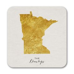 Bright State - Coasters - Minnesota. Available at Persnickety Invitation Studio.
