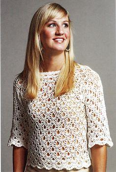 Ravelry: Fancy Fans pattern by Doris Chan... #inspiration_crochet_diy GB ...