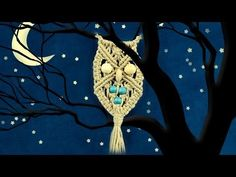 Macramé Owl - Necklace (DIY) - YouTube