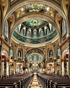 Our Lady of Victory in Lackawanna, New York.
